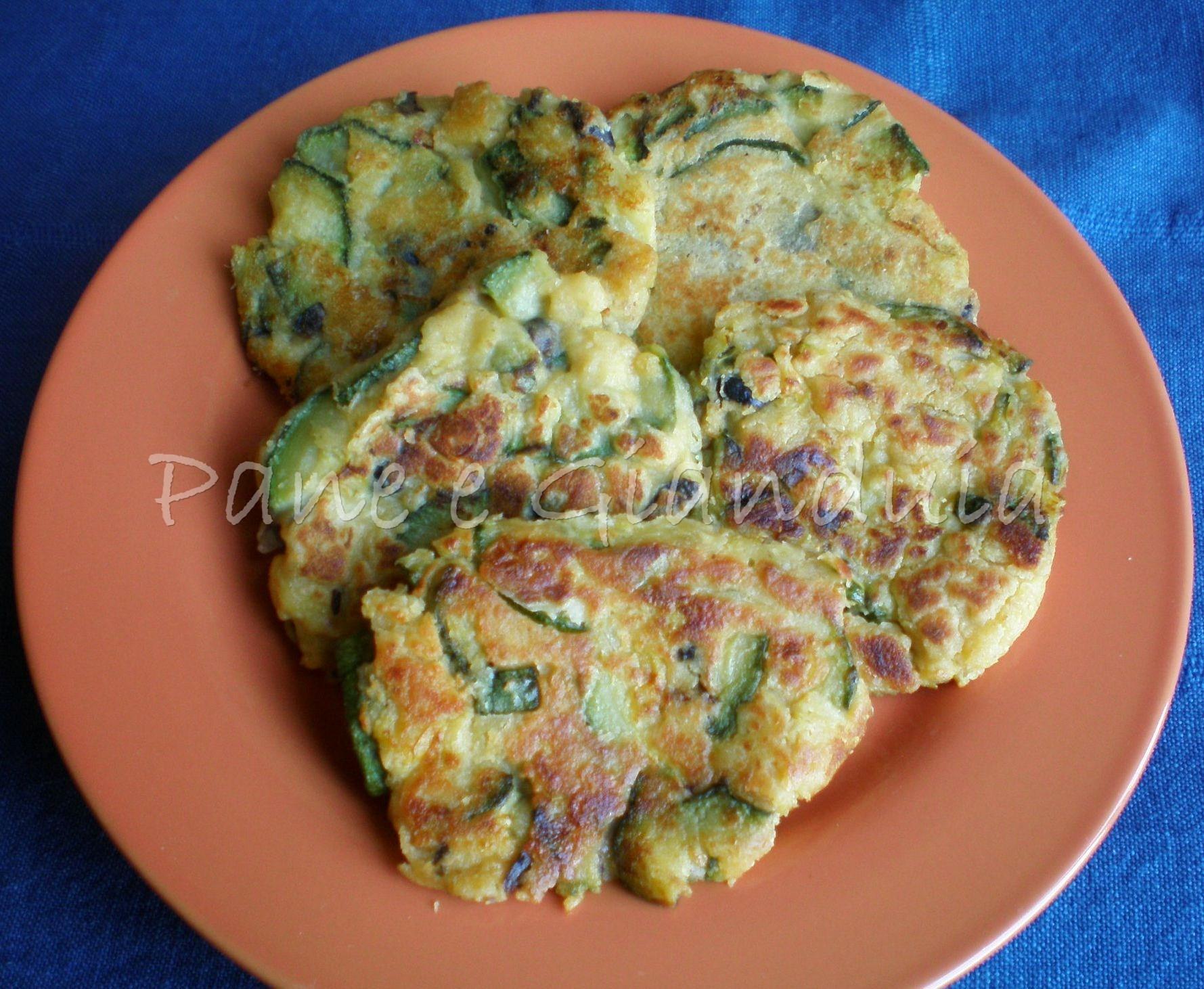 Frittatine senza uova