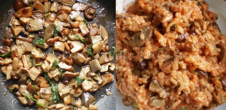 impasto crocchette di riso