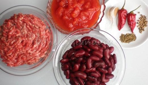 carne e fagioli alla messicana