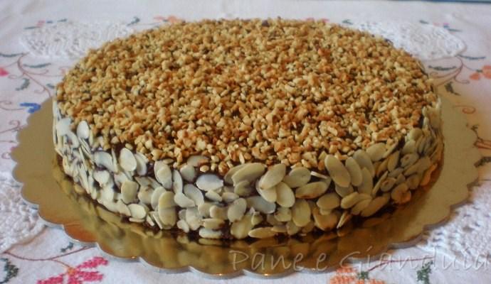 torta soffice con marmellata di agrumi e cioccolato