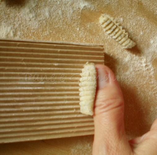malloreddus con grano saraceno