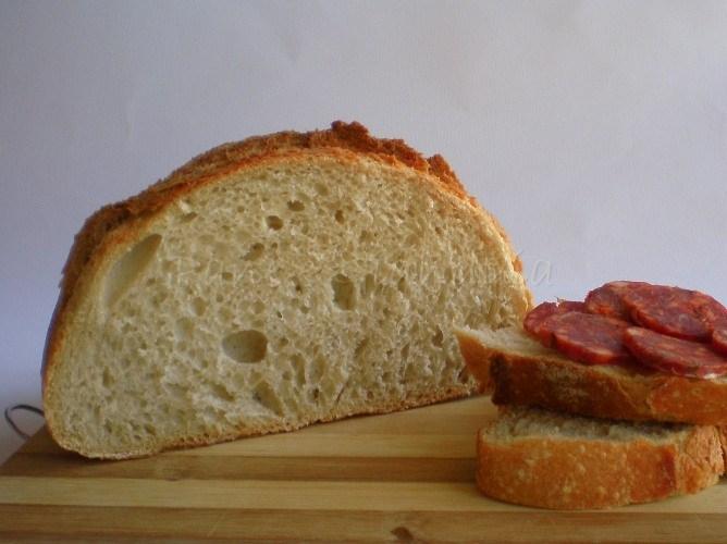 Pane con farina 0