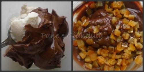 Tartellette con crema alla nocciola e arancia candita