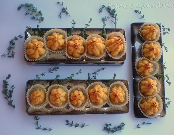 Rosette di patate e prosciutto cotto