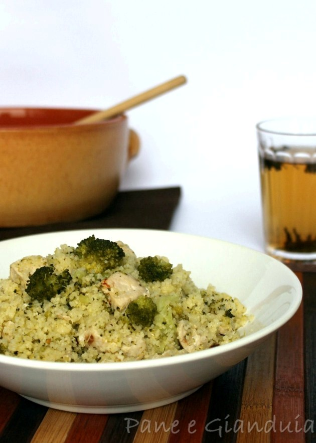Cous Cous con bocconcini di pollo e verdura