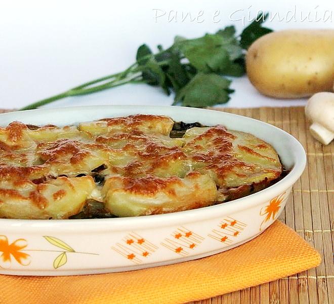 Ricetta svuotafrigo con verdure e formaggio