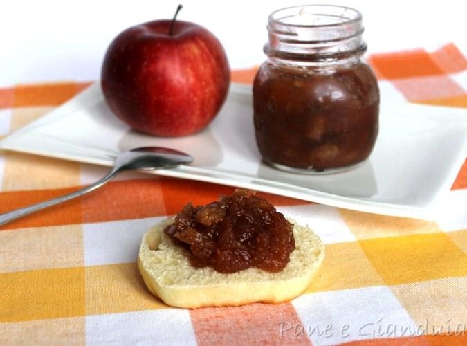 confettura di mele Strudel
