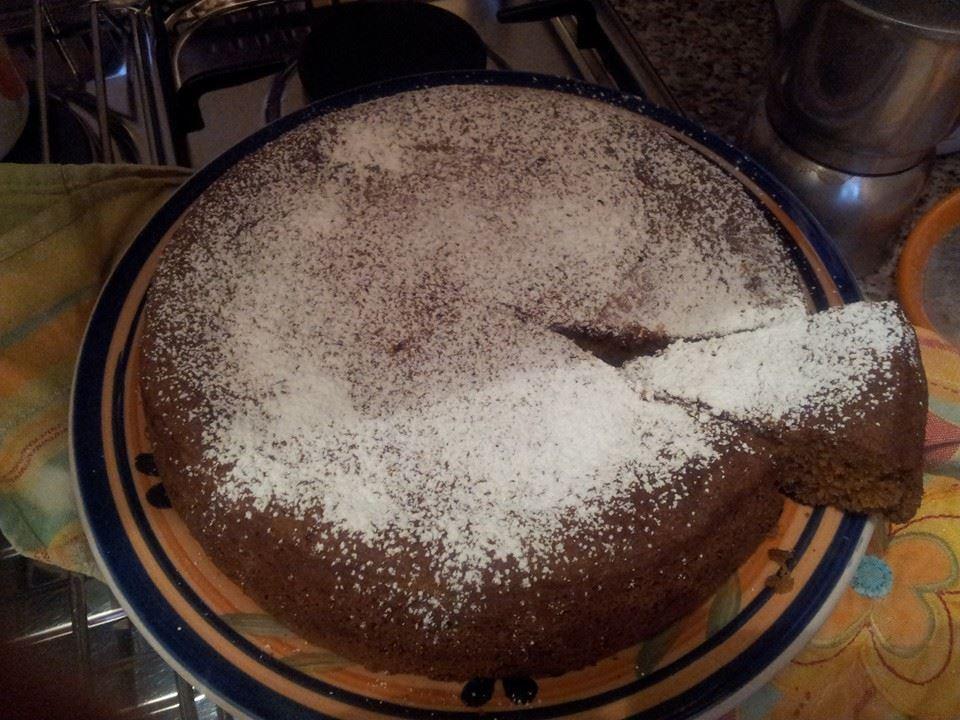 Alessandra Petrozzi - Torta cacao e mandorle