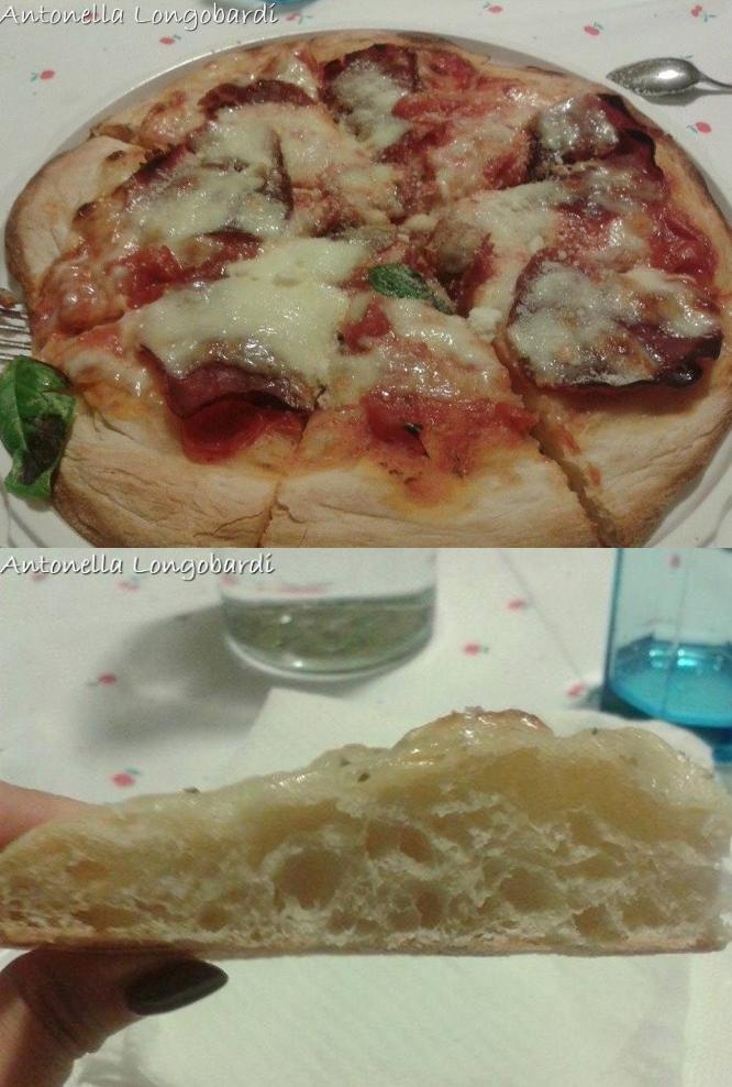 Antonella Longobardi - Pizza in teglia versione semplificata