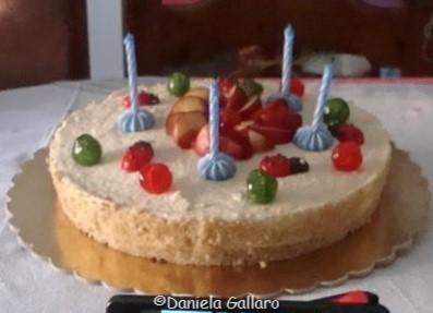 Daniela Gallaro Torta fredda alle pesch