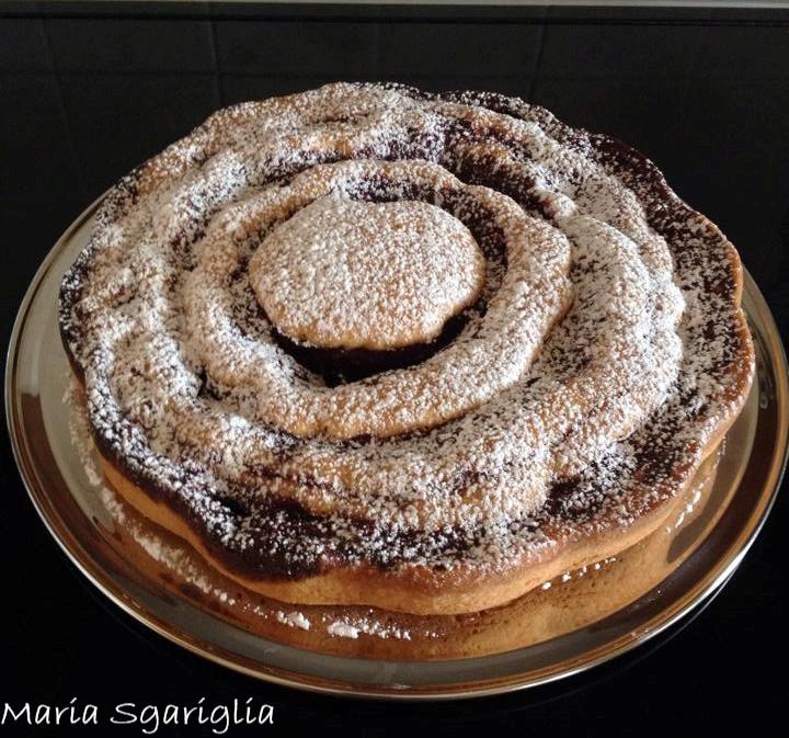 Maria Sgariglia - Torta variegata ai frutti di bosco