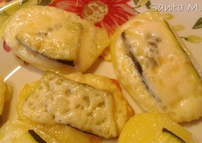 Santa Marzano - Saltimbocca patate e zucchine