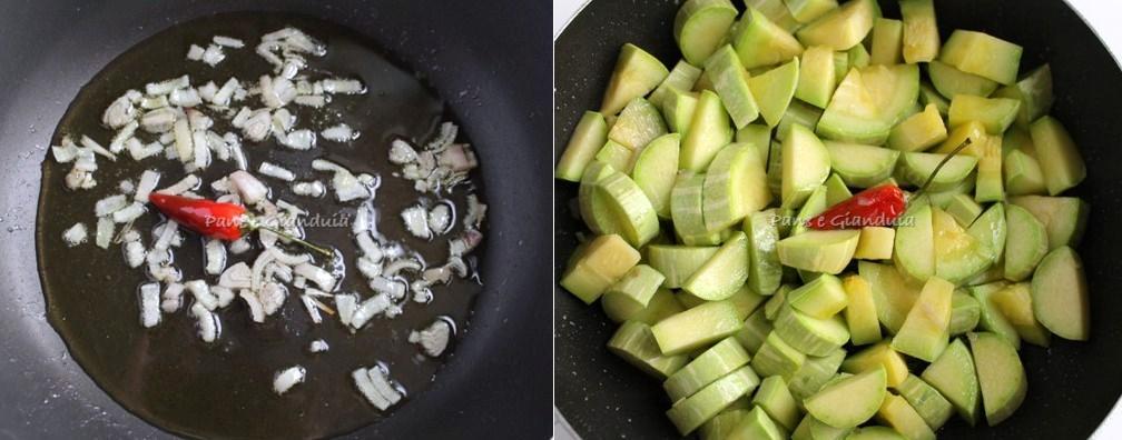 Zucchine trombetta in umido pane e gianduia blog for Cucinare zucchine trombetta