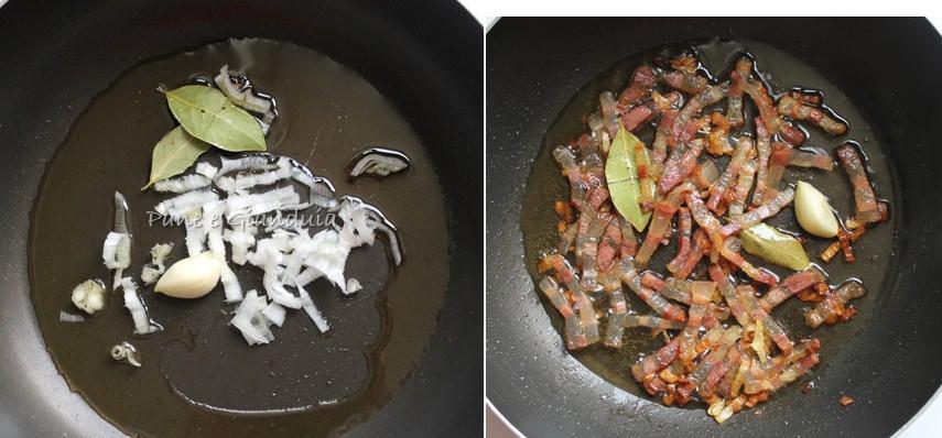 fagioli e pancetta affumicata