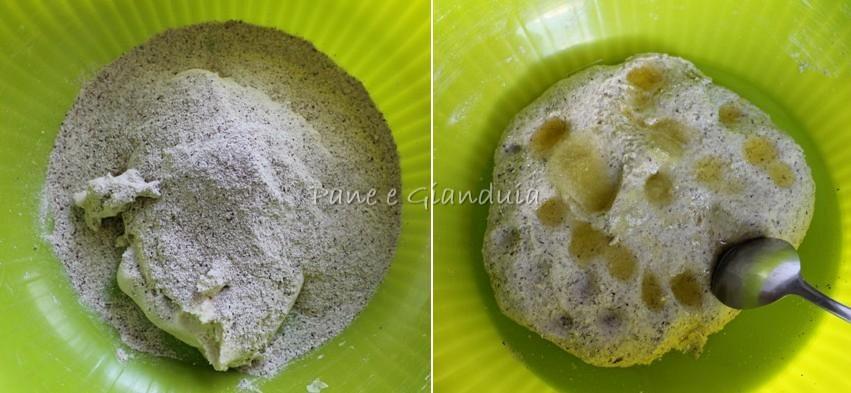 Impasto piadine grano saraceno