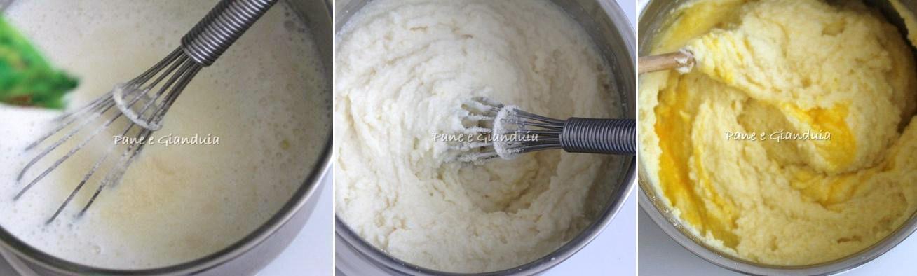 Impasto gnocchi di semolino