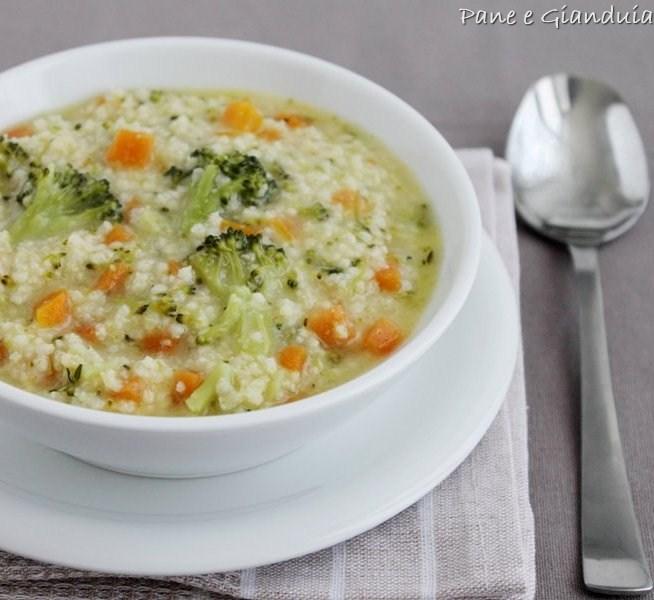 Zuppa di miglio e verdure pane e gianduia for Cucinare miglio