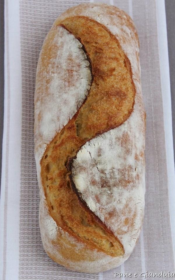 Filone di pane con farina khorasan