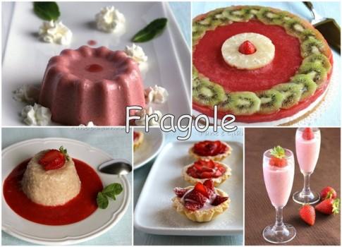 Raccolta ricette con le fragole
