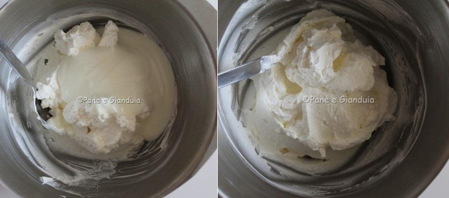 preparazione mousse yogurt