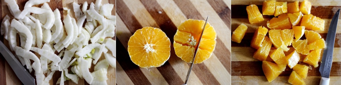 Ricetta insalata siciliana di arance