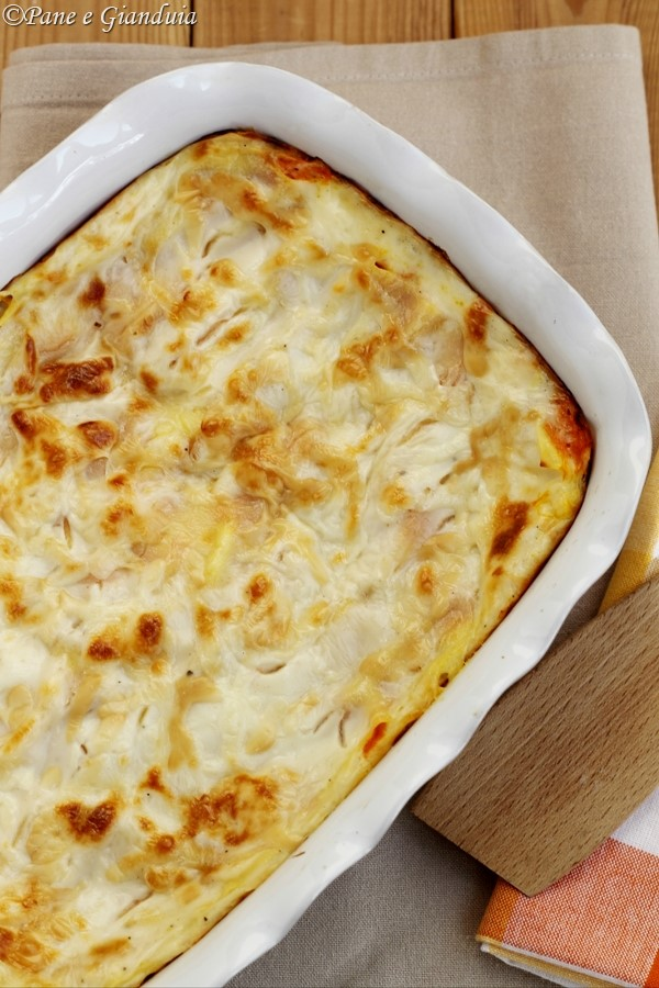 Lasagne zucca e scamorza