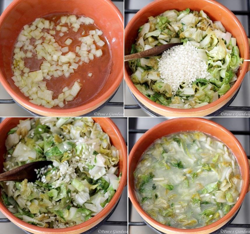 Ricetta riso e scarole