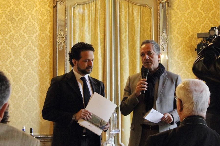 Andrea Cerrato e Giorgio Ferrero conferenza stampa