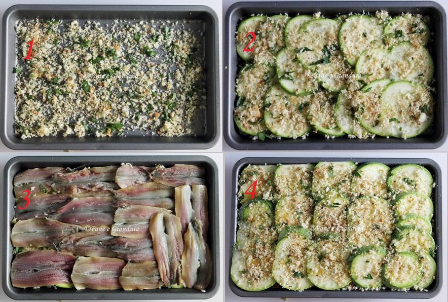 Ricette zucchine e alici