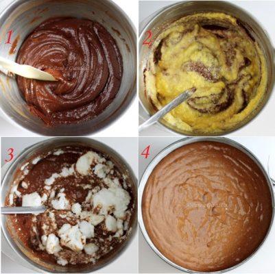 Torta al cioccolato e polenta