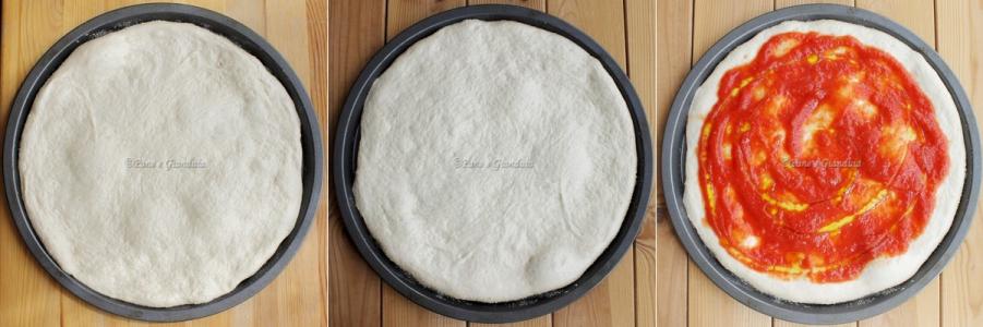 pizza lievitazione in teglia