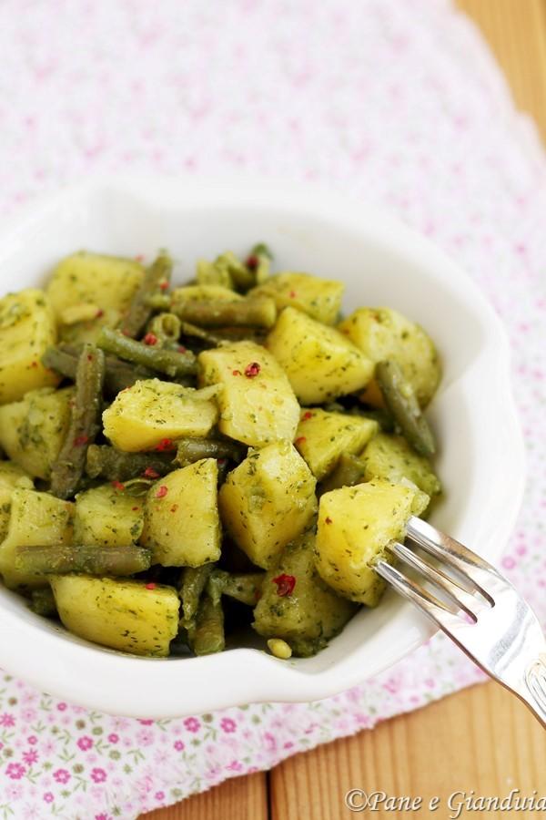 Insalata di patate in salsa verde