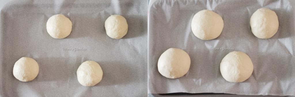 Panini soffici con yogurt e lievito madre pane e gianduia