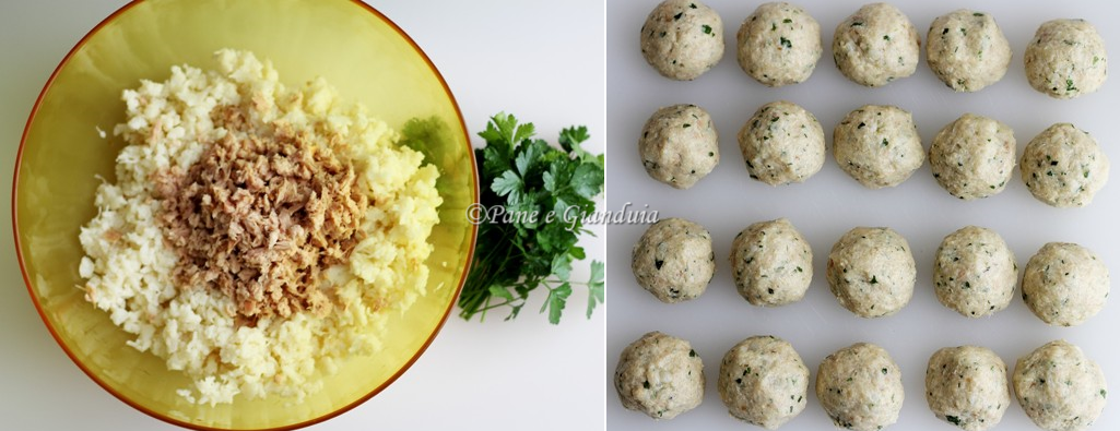 ingredienti ricetta polpette cavolfiore