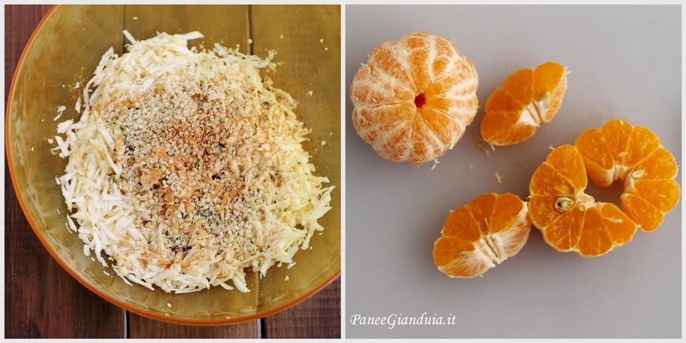 Procedimento Insalata di sedano rapa con mandarini