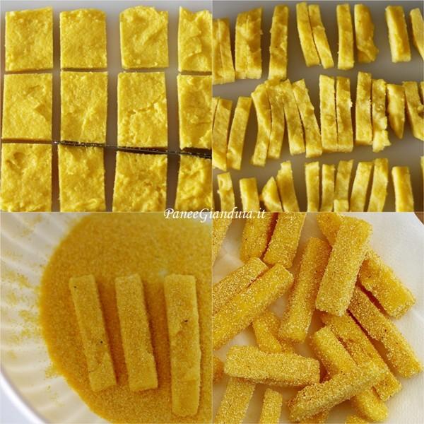 riclicare la polenta fare polenta fritta