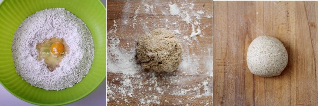 Impasto Gnocchi rustici di farina petra 9