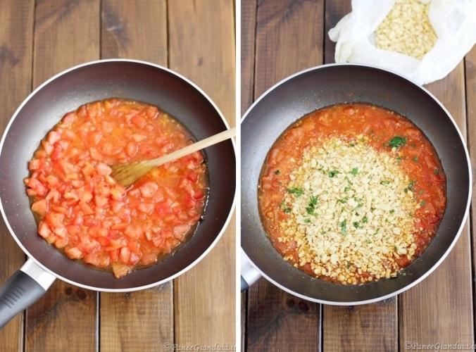 Ricetta fregula sarda al pomodoro