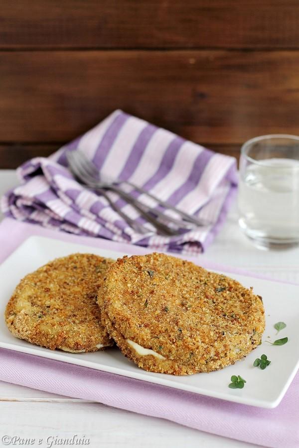 Cotolette vegetariane cotte al forno