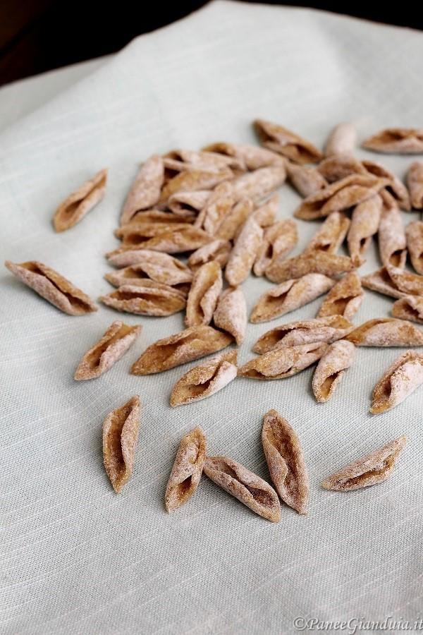 Maccheroncini di farina di quinoa