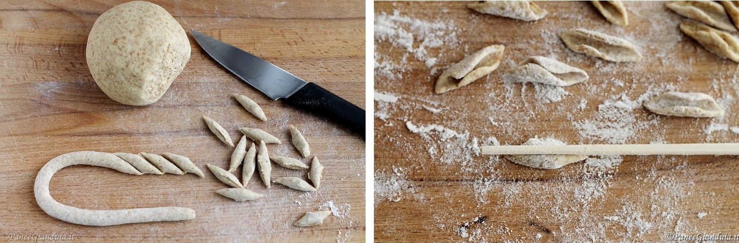 Pasta con farina di quinoa