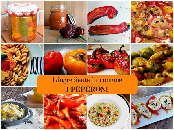 Banner L'ingrediente in comune - Peperoni