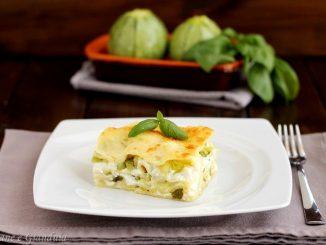 Lasagne al forno con zucchine e ricotta