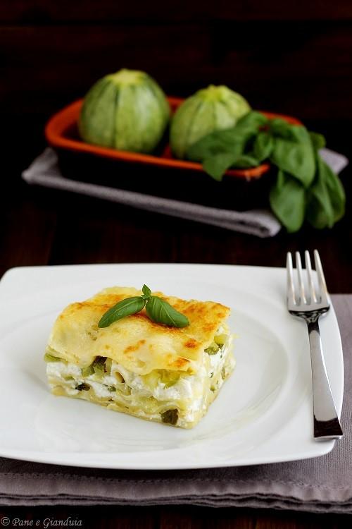 Lasagne al forno zucchine e ricotta