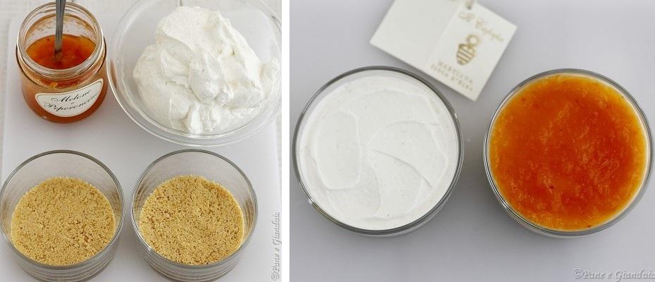 ricetta Cheesecake allo yogurt e confettura di melone