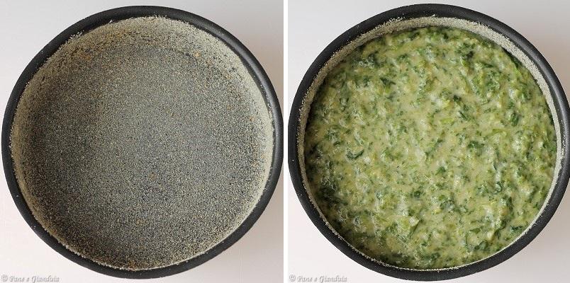 Torta salata con scarola