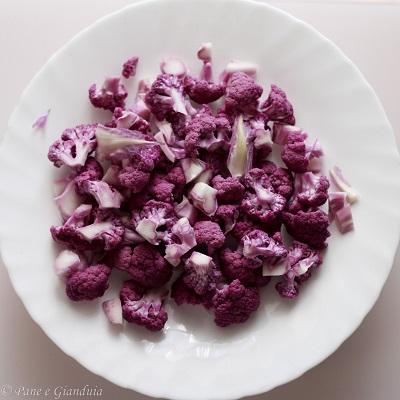 ricette cavolfiore viola