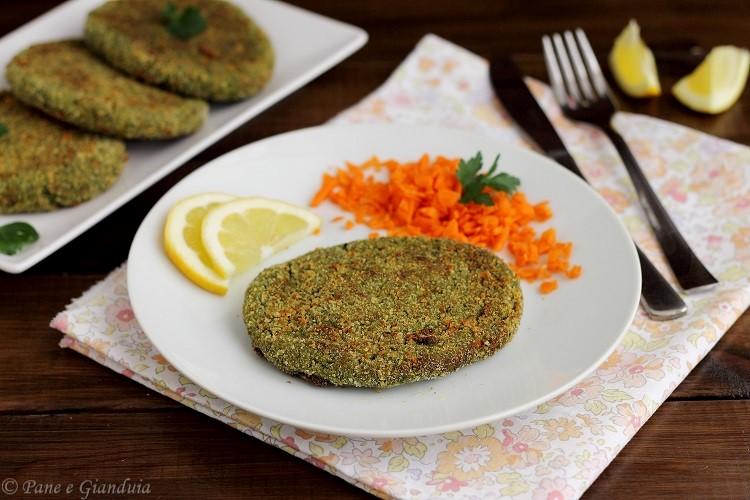 Cotolette vegetariane con bietole e ricotta