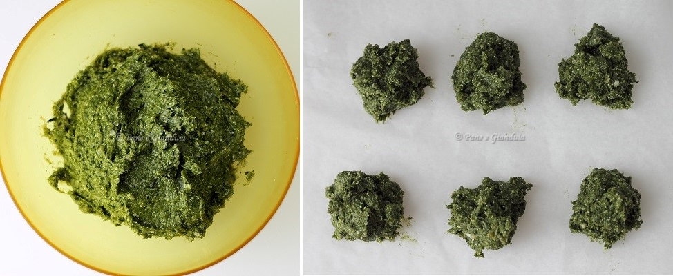 Impasto spinacine