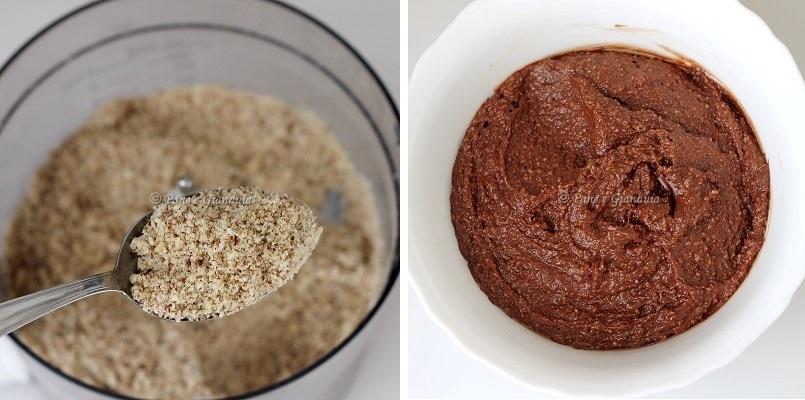 Ingredienti Caprese al cioccolato